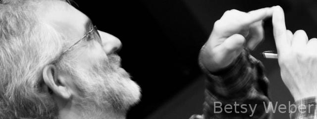 bearded speaker
